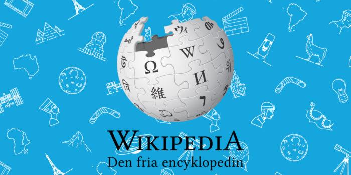 logga för wikipedia