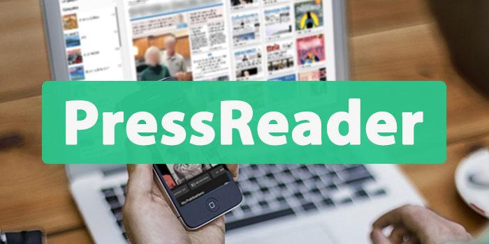 PressReader – digitala tidningar och tidskrifter