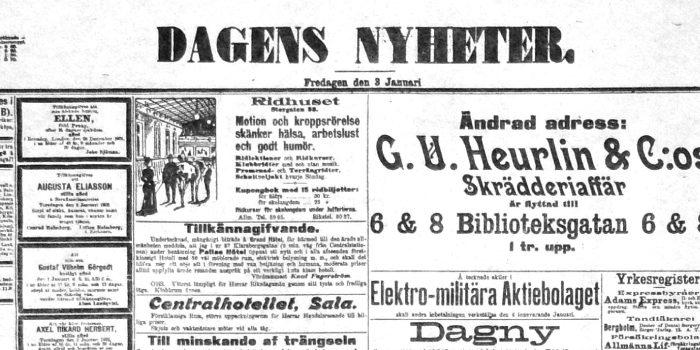 Digitala dagstidningar tillgängliga för alla – Karin Grönvall kommenterar