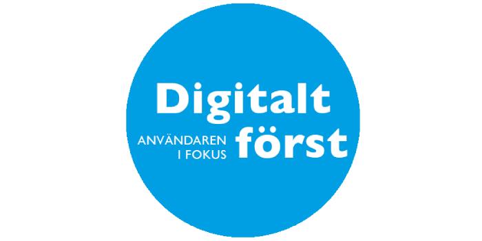 Logotyp: Digitalt först med användaren i fokus