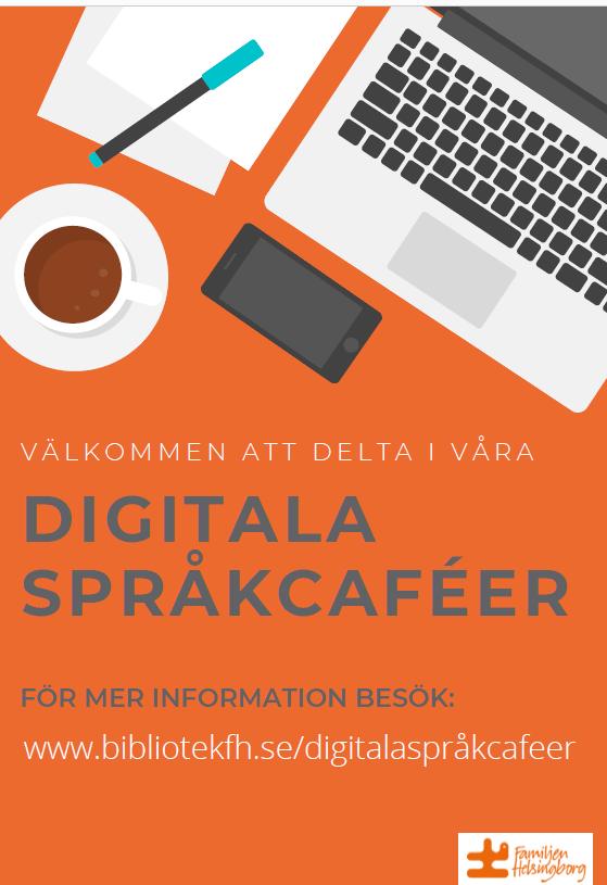 Digitala Språkcaféer.