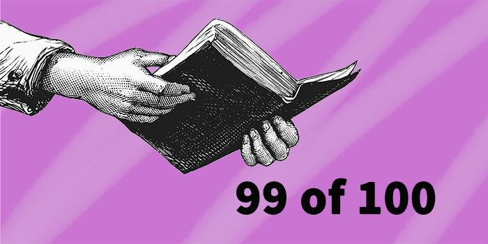 99 of 100