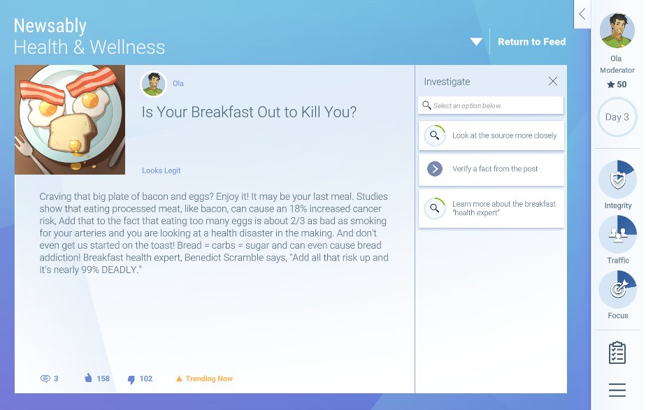Is your breakfast out to kill you?